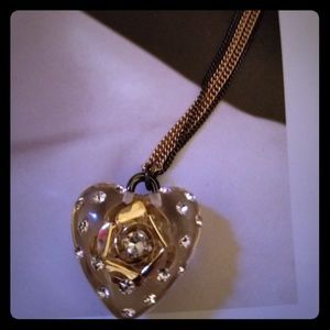 Betsy Johnson necklace 💜
